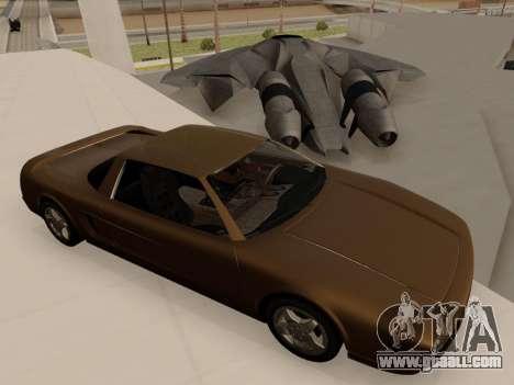 Infernus PFR v1.0 final for GTA San Andreas right view