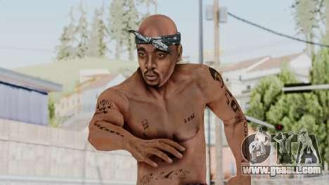 2Pac Skin HD v1.0 for GTA San Andreas