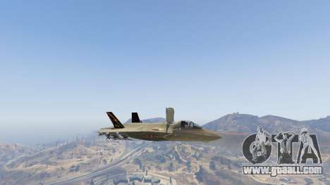 GTA 5 F-35B Lightning II (VTOL) ninth screenshot