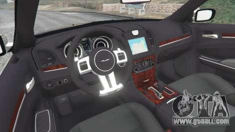 GTA 5 Chrysler 300C 2012 [Beta] rear right side view