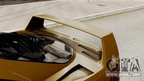Ferrari F40 1987 HQLM for GTA San Andreas inner view