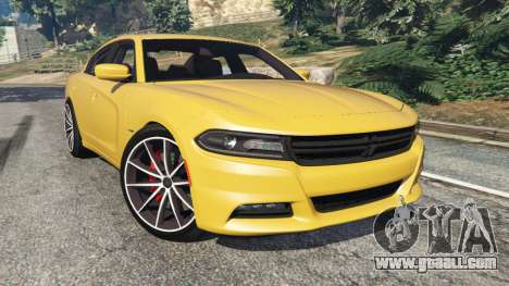 Dodge Charger RT 2015 v1.3 for GTA 5