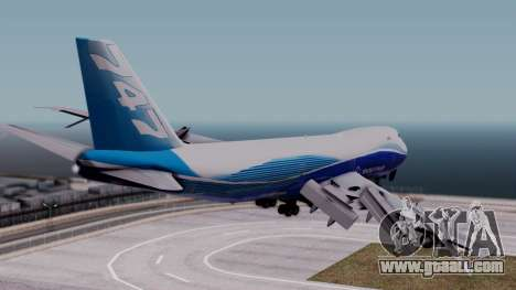 Boeing 747-400 Dreamliner Livery for GTA San Andreas left view