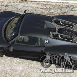 porsche 918 spyder 2014 hd for gta 5. Black Bedroom Furniture Sets. Home Design Ideas