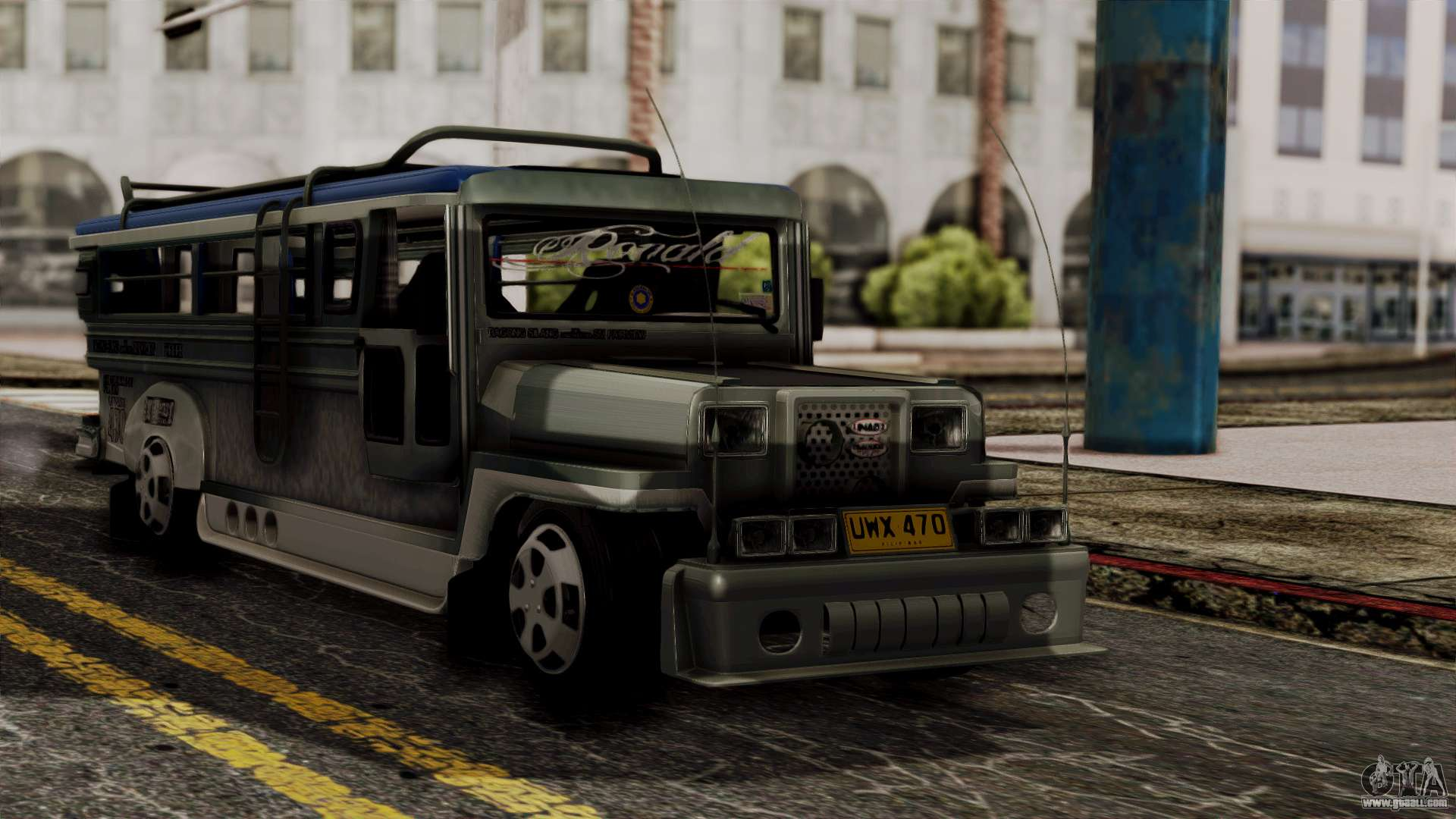 Milwaukee Motors Custom Jeepney For Gta San Andreas