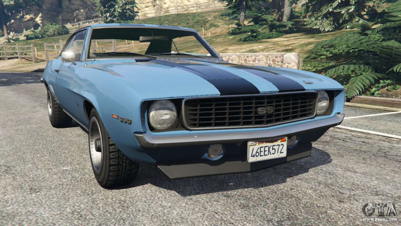 chevrolet camaro ss 350 1969 for gta 5. Black Bedroom Furniture Sets. Home Design Ideas