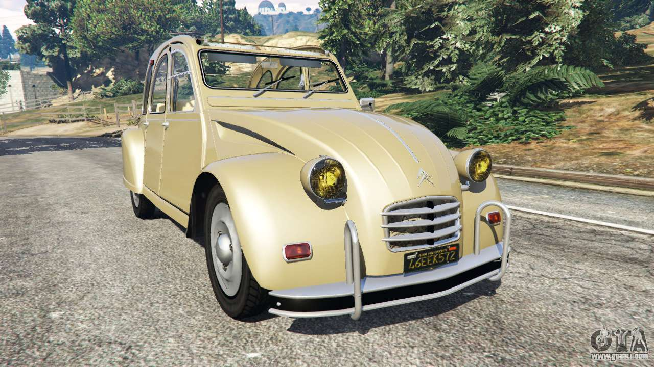 citroen 2cv for gta 5. Black Bedroom Furniture Sets. Home Design Ideas