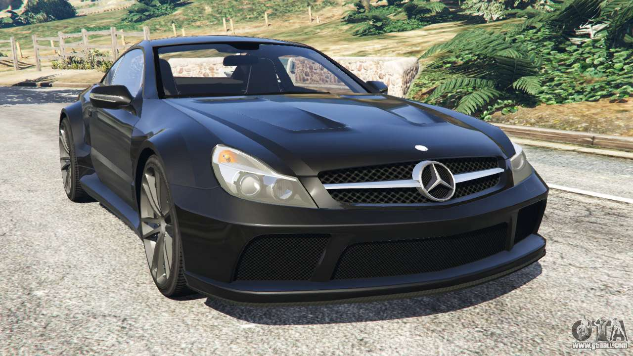 Mercedes Benz Sl 65 Amg Black Series For Gta 5