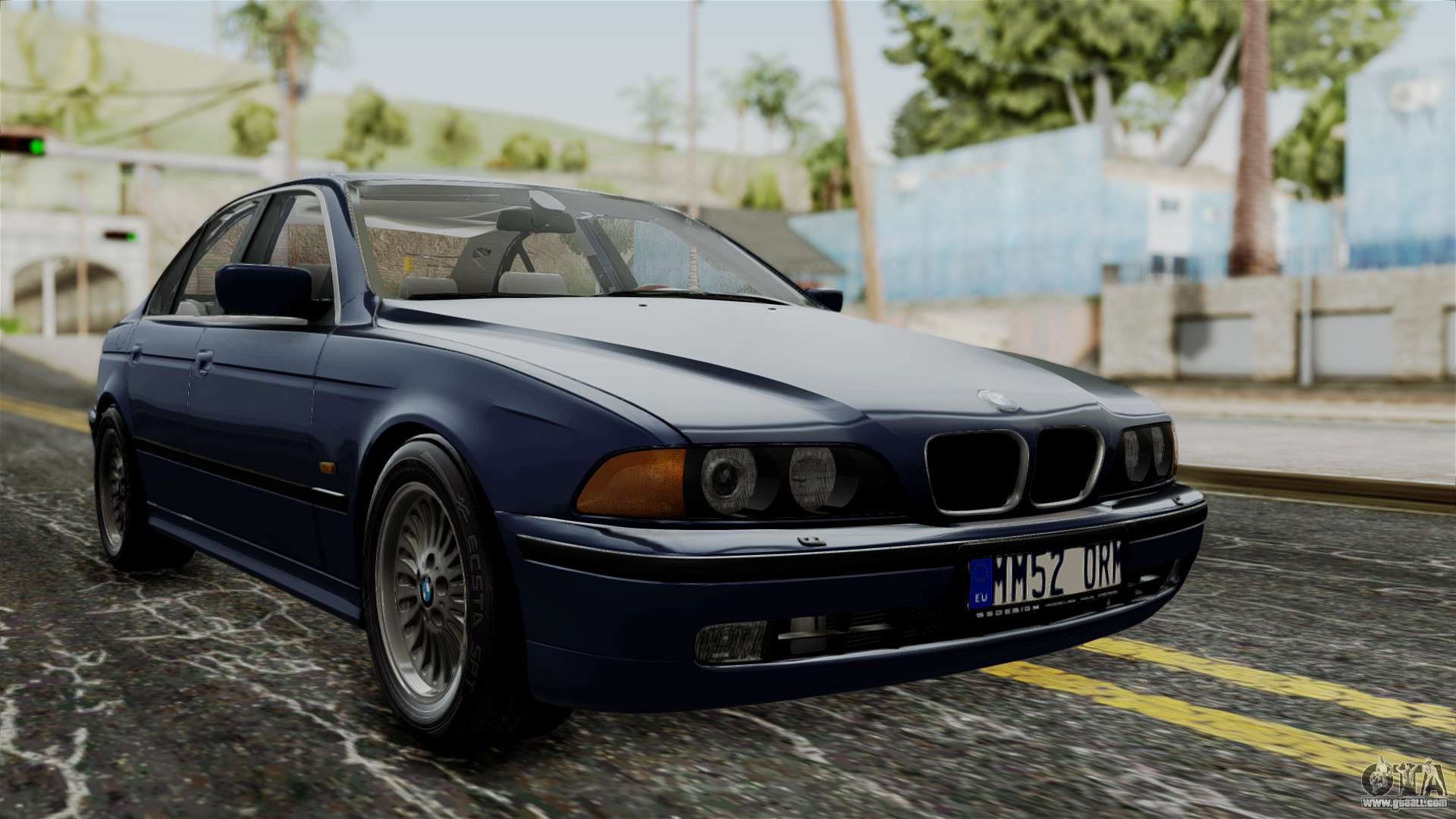 Bmw 530d E39 1999 Stock For Gta San Andreas