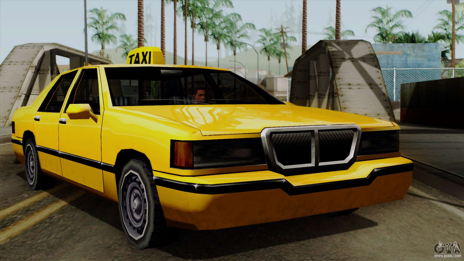 Elegant Taxi for GTA San Andreas