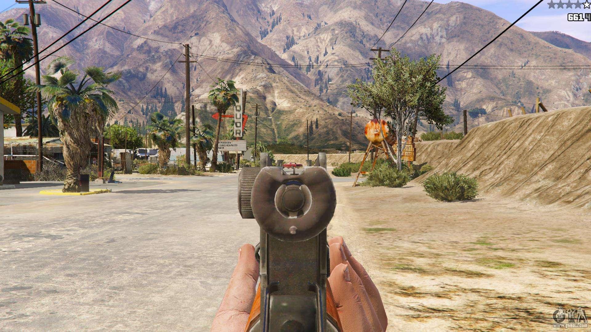 OTS-14 Groza from Battlefield 4 for GTA 5