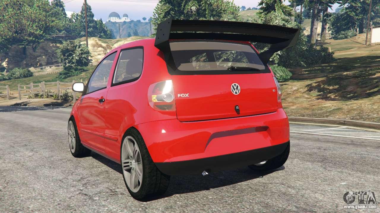 Gta 5 Custom Cars >> Volkswagen Fox v1.1 for GTA 5
