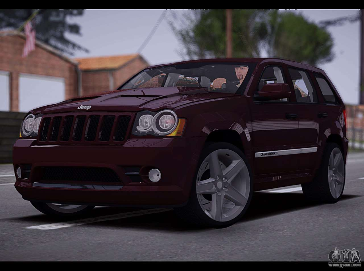 Jeep Grand Cherokee Tires >> Jeep Grand Cherokee SRT8 2008 for GTA San Andreas