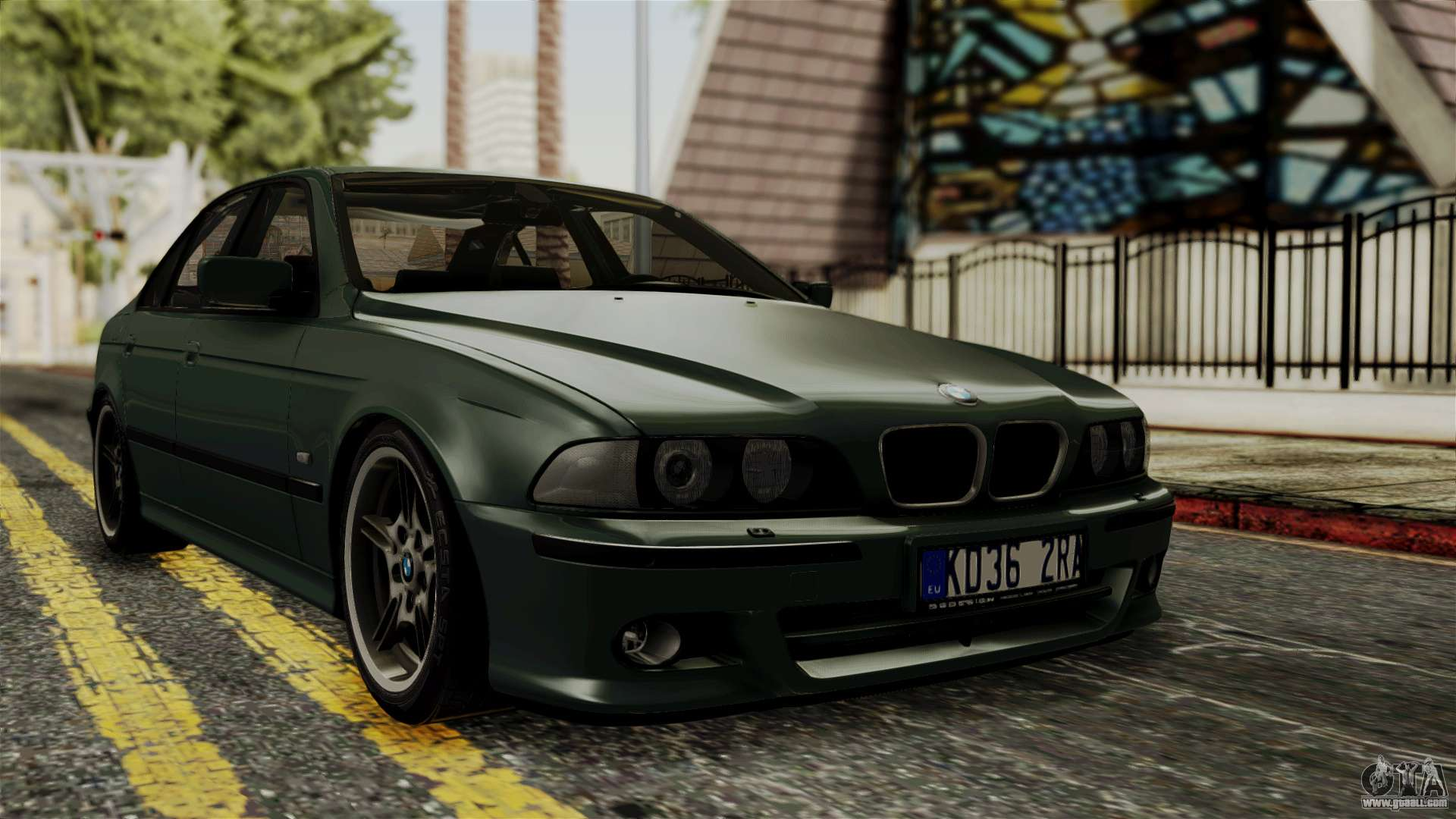 bmw 530d e39 1999 mtech for gta san andreas. Black Bedroom Furniture Sets. Home Design Ideas