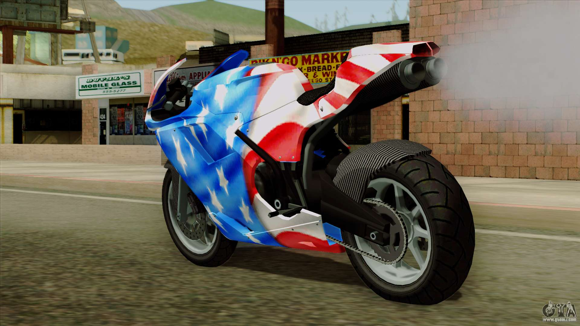 Bati America Motorcycle For Gta San Andreas