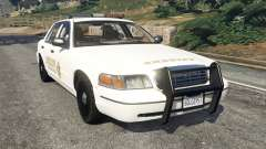 Ford Crown Victoria 1999 Sheriff v1.0 for GTA 5