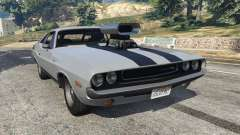 Dodge Challenger RT 440 1970 v0.9 [Beta] for GTA 5