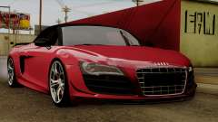 Audi R8 GT Spyder 2012
