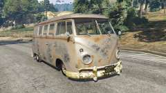 Volkswagen Transporter 1960 rusty [Beta] for GTA 5