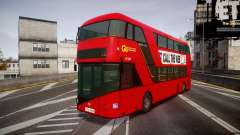 Wrightbus New Routemaster Go Ahead London for GTA 4