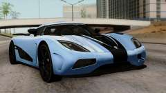 Koenigsegg Agera R 2014 Carbon Wheels for GTA San Andreas