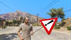 Road sign for GTA 5