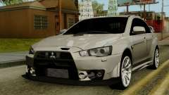 Mitsubishi Lancer Evolution X FQ400 Pro for GTA San Andreas