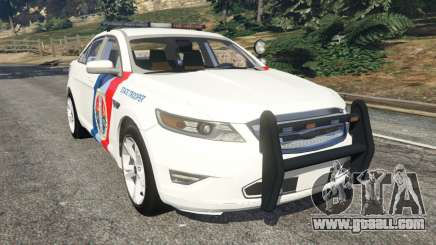 Ford Taurus State Troopers San Andreas for GTA 5