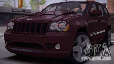 Jeep Grand Cherokee SRT8 2008 for GTA San Andreas
