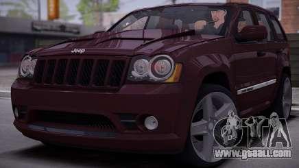 Jeep Grand Cherokee SRT8 2008 for GTA San Andreas