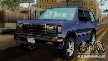 Landstalker from Vice City for GTA San Andreas