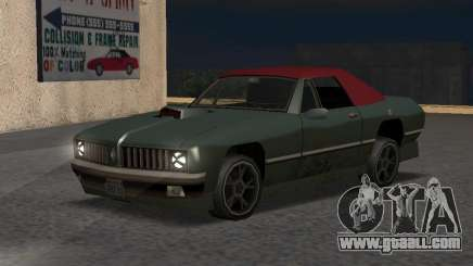 New Stallion for GTA San Andreas