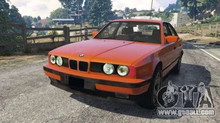 BMW 535i (E34) v2.0 for GTA 5