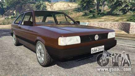 Volkswagen Gol GL 1.8 for GTA 5