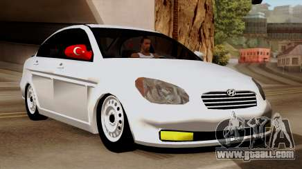 Hyundai Accent for GTA San Andreas
