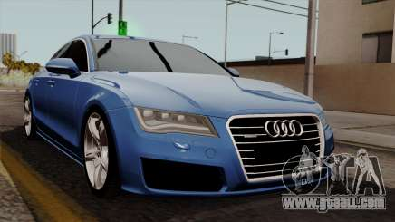 Audi A7 Sportback 2009 for GTA San Andreas
