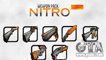 Nitro Weapon Pack for GTA San Andreas