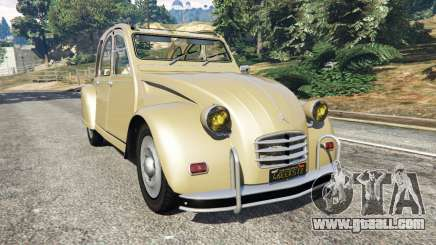 Citroen 2CV for GTA 5