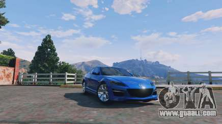 Mazda RX-8 R3 v0.1 for GTA 5