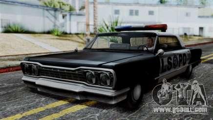 Police Savanna 2.0 for GTA San Andreas