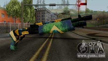 Brasileiro Combat Shotgun v2 for GTA San Andreas