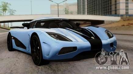 Koenigsegg Agera R 2014 Carbon Wheels for GTA San Andreas