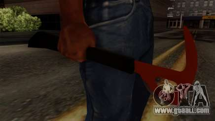 The axe from The Forest for GTA San Andreas