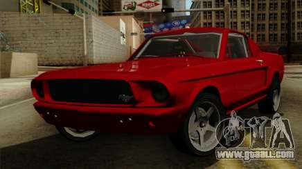 Ford Mustang Fastback for GTA San Andreas