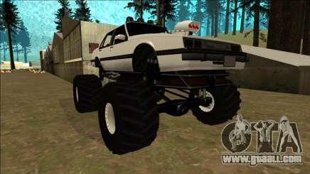 Willard Monster for GTA San Andreas