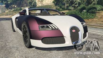 Bugatti Veyron Grand Sport v4.0 for GTA 5