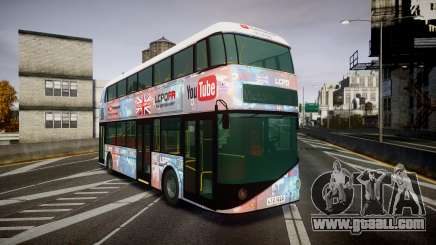 Wrightbus New Routemaster for GTA 4