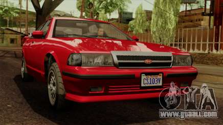 GTA 5 Vapid Stanier II for GTA San Andreas
