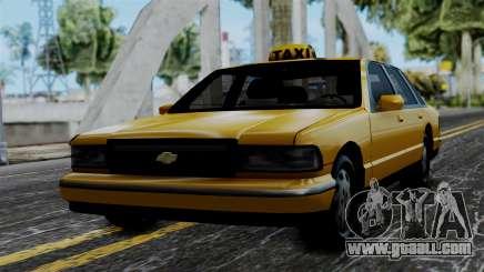 Taxi Casual v1.0 for GTA San Andreas