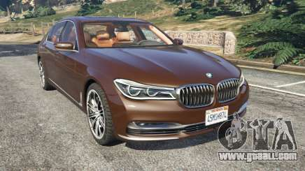 BMW 750Li 2016 v1.1 for GTA 5